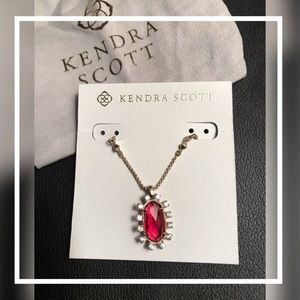 🆕KENDRA SCOTT Brett CZ Necklace 28""